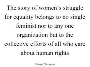 Gloria Steinem - WomensDay
