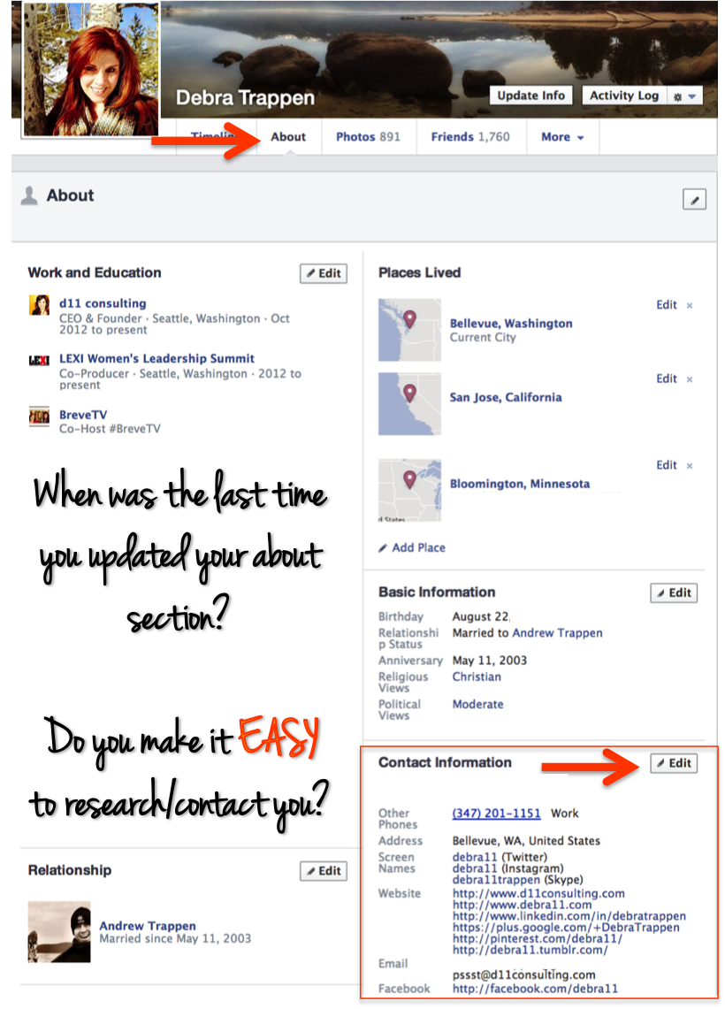 how to change your primary contact on facebook