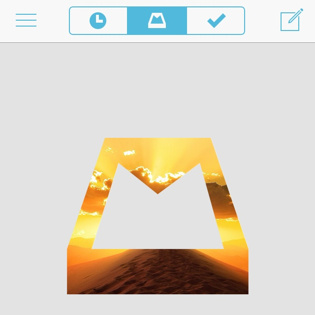 "The Mailbox App ""Inbox Zero - Under Control"" Visual!"