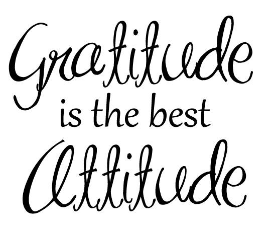 gratitudeisthebestattitude