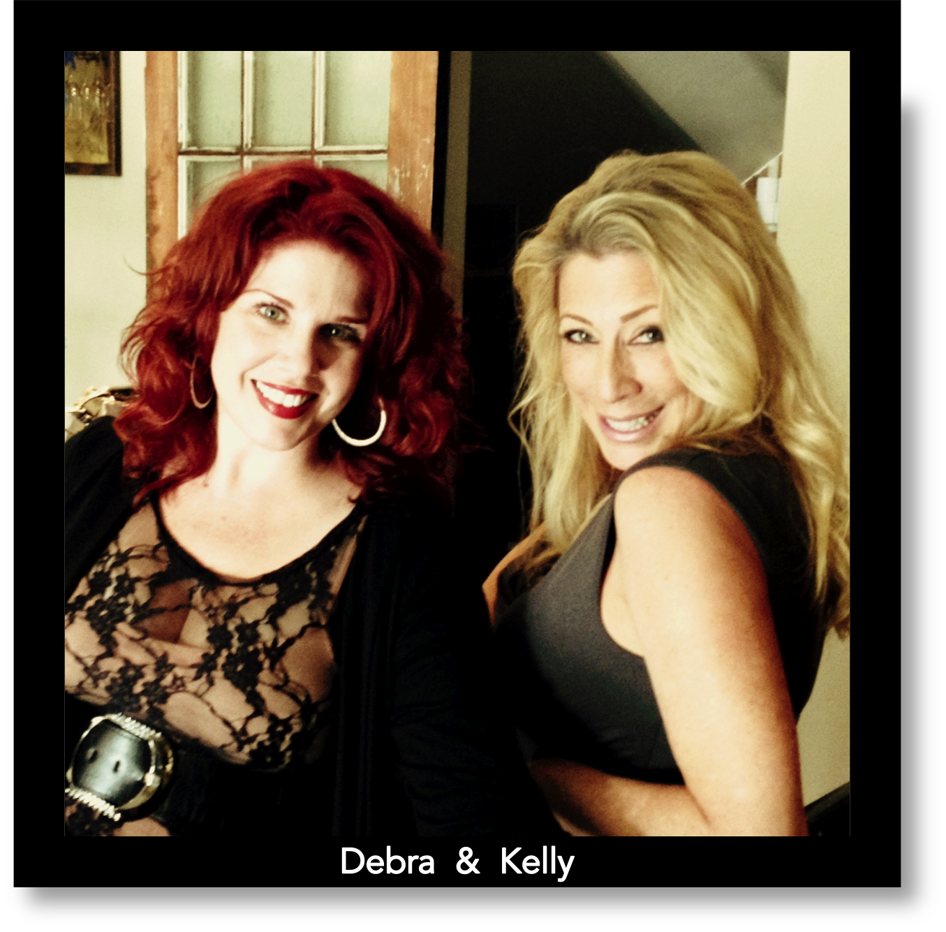 Debra and Kelly - BreveTV Border with Names