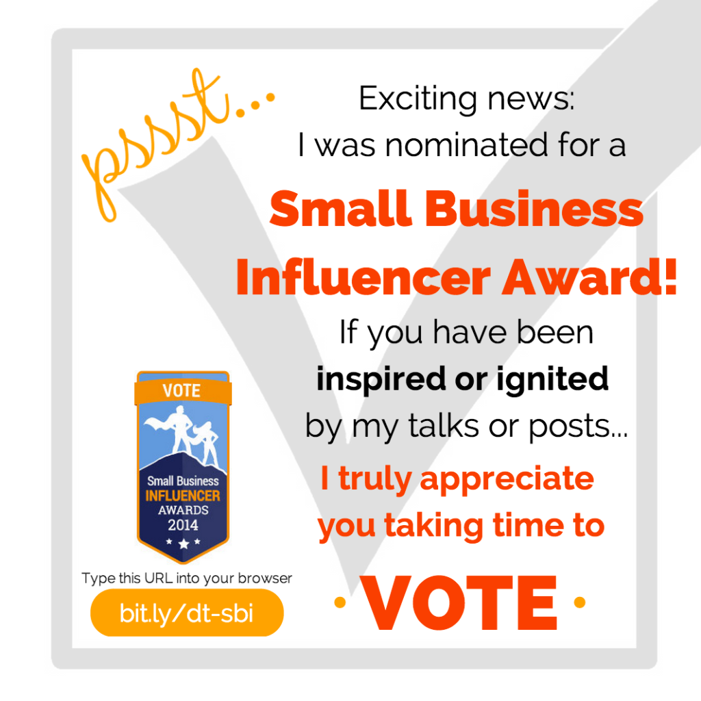 2014-SmallBizInfluencerAward- VOTE1