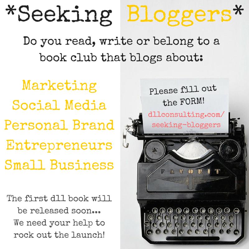 Seeking Bloggers!