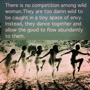 ThereIsNoCompetitionAmongWildWomen