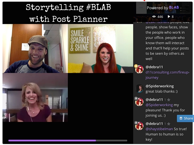 Storytelling-BLAB-with-Post-Planner