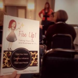 Breakout Fire Up! Book Talk