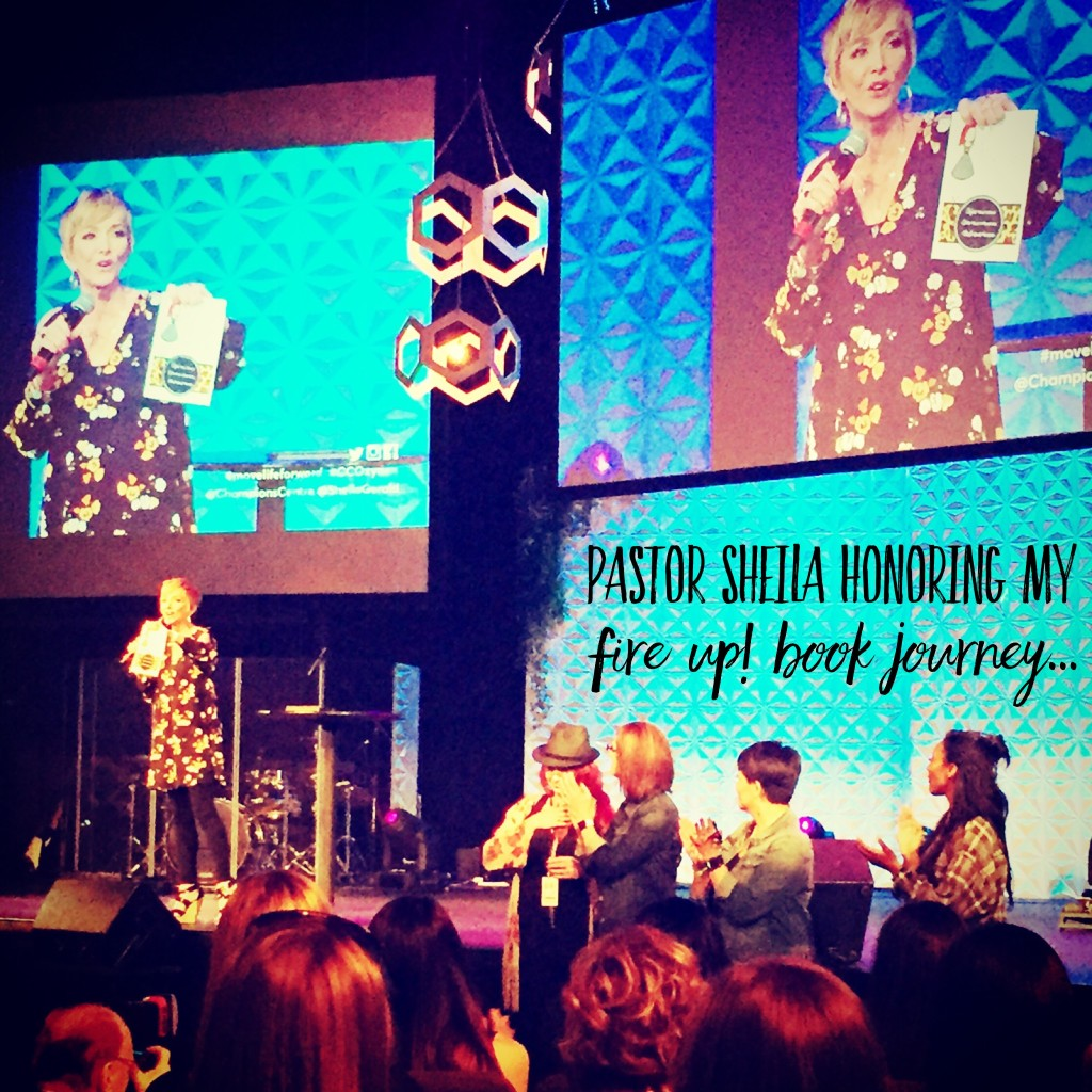 Pastor Sheila Honoring My #FireMeUp11 Book Journey