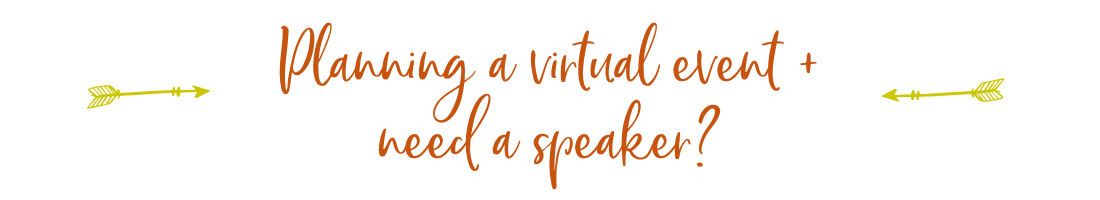 Need a virtual speaker?